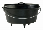 Logde Camp Dutch Oven (tief), 7,6 Liter